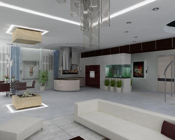 Дизайн однокомнатной квартиры: расположение мебели, интерьер и декор