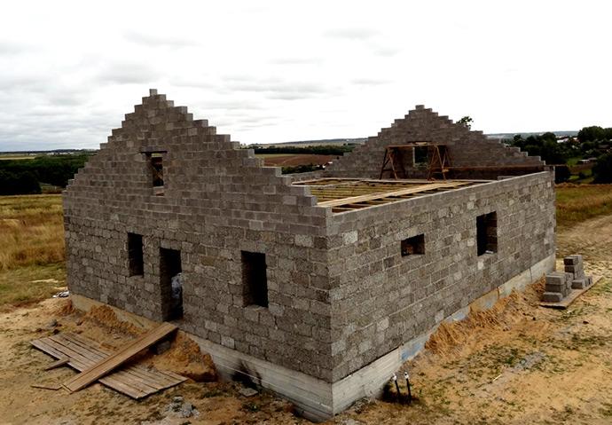 Арболитовые блоки. Дом из арболита
