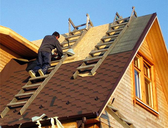 Ремонт крыши. Кровельные работы