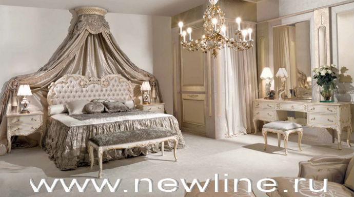 Итальянские спальни в стиле неоклассика фото