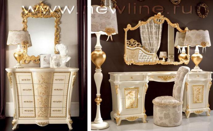 Итальянская мебель для спальни. Комод