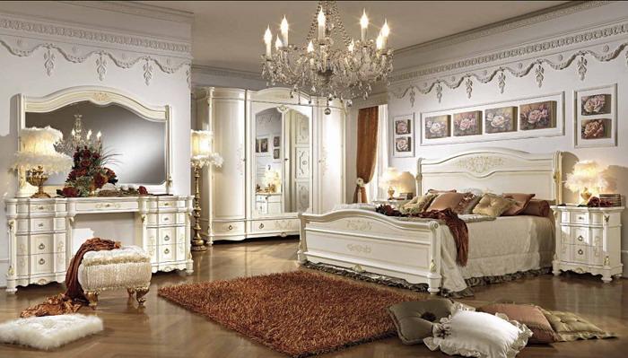 Итальянские классические спальни. Спальня из италии классика