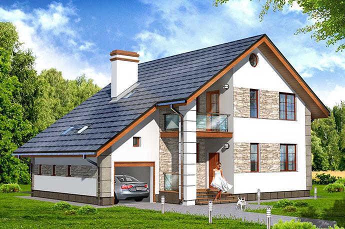 Проект загородного дома. Проект коттеджа