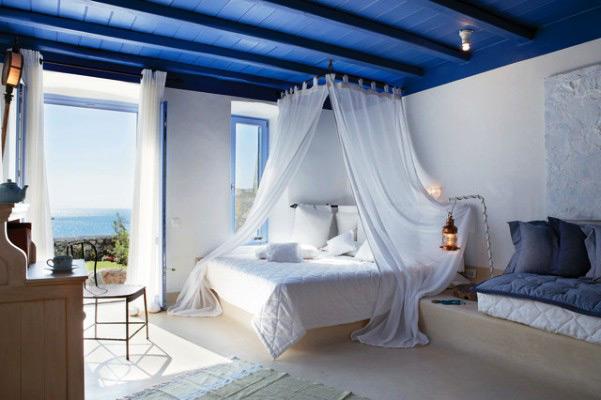 Средиземноморский стиль в интерьере. Спальня в средиземноморском стиле