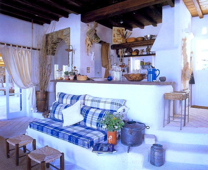 Средиземноморский стиль в интерьере. Кухня в средиземноморском стиле