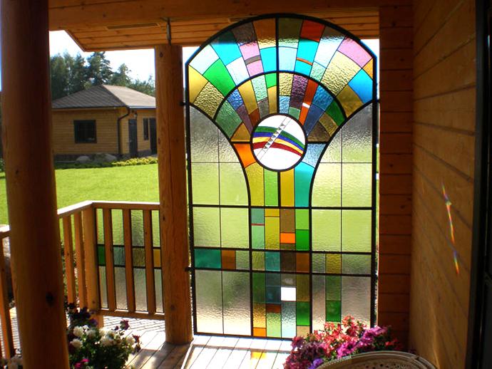 Декоративное стекло. Витражи
