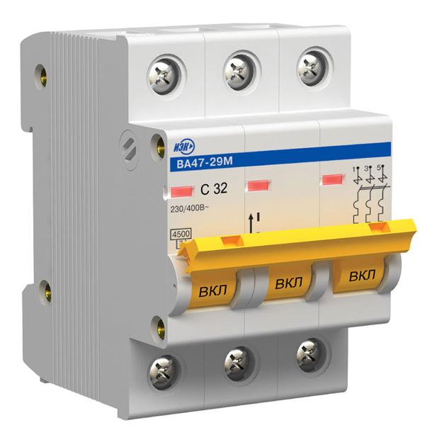 Автоматические выключатели: Hager, ETI, Flexel, Osram и другие