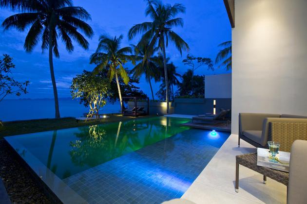 Роскошный отель с бассейнами на острове Самуи