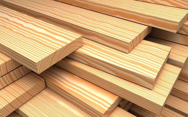 Доска необрезная: характеристики и особенности стройматериала