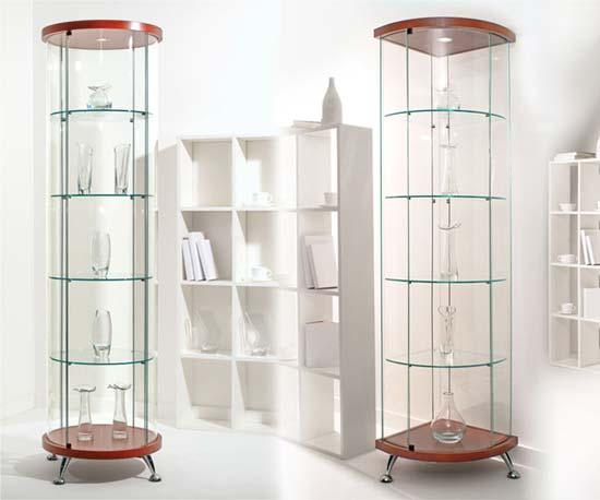 Выбираем витрины и шкафы для посуды и аксессуаров