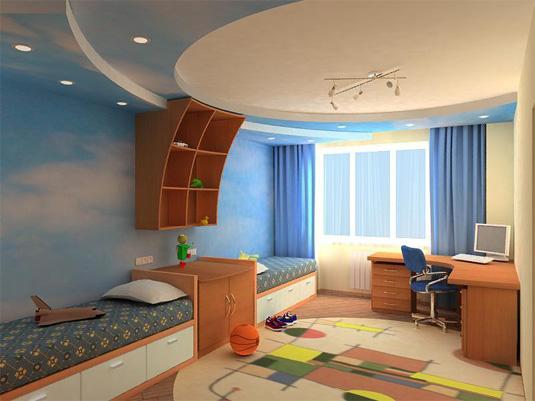 Дизайн интерьера детской комнаты: дизайнерские советы и идеи