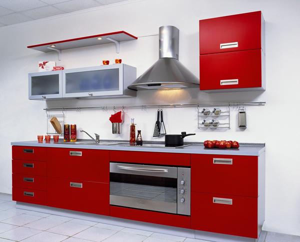 Кухня: размещение кухонной мебели и приборов