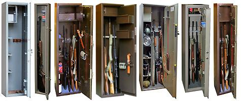 Оружейный шкаф – как его правильно выбрать