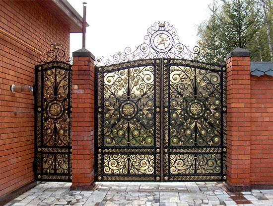 Ворота: современные материалы и дизайн