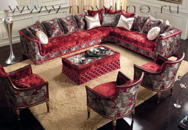 Эксклюзивная мебель Италии в стиле Людовика XIV