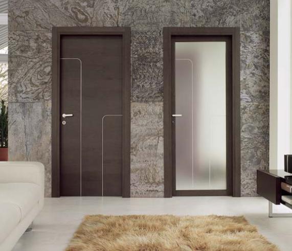 Міжкімнатні двері з металу
