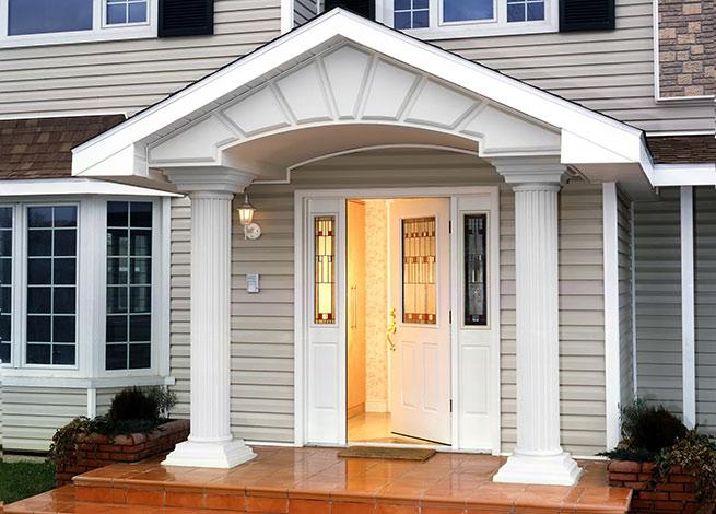 Входные двери для загородного дома: типы дверей дверные ручки и другая фурнитура