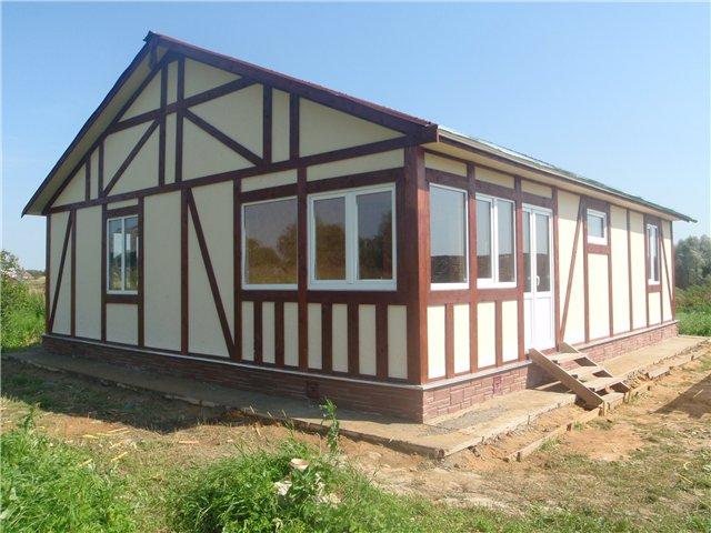 Каркасный жилой дом - реальность с положительными аспектами