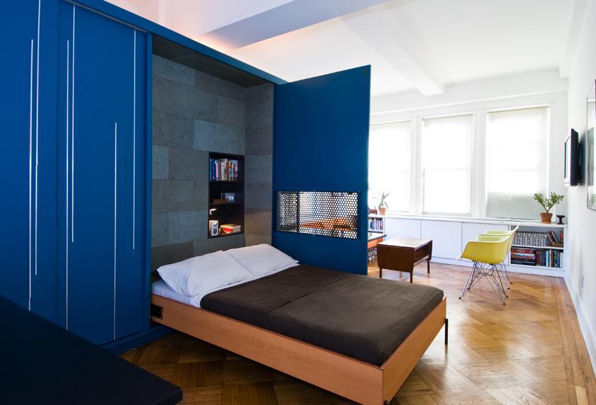 Мебель для однокомнатной квартиры: выбираем стулья, столы, шкафы