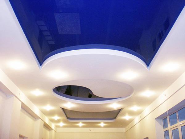 Тканевые натяжные потолки, их основные достоинства и положительные характеристики для использования