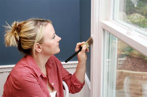Как покрасить окна из алюминиевого профиля