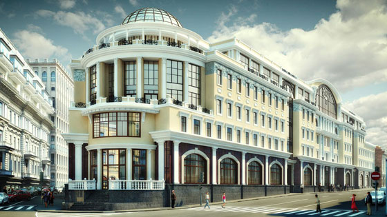 Реконструкция зданий административного предназначения