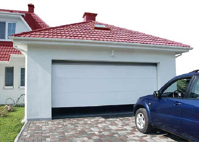 Автоматические ворота для гаража