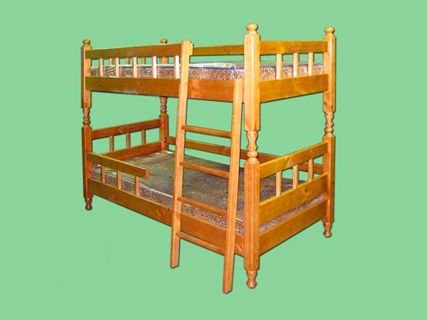 Деревянные двухъярусные кровати на сайте somebel.ru
