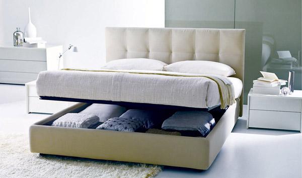 Особенности двуспальных кроватей с подъемным механизмом