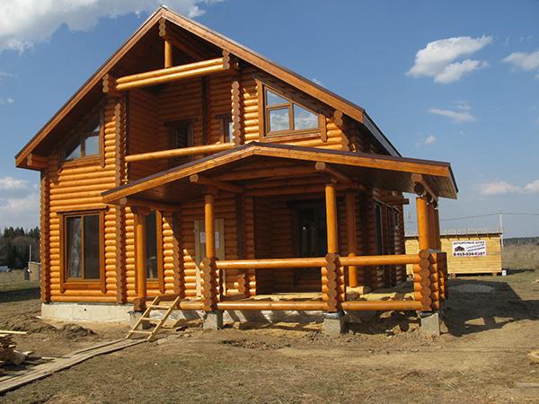 Как построить дом из бревна - основное планирование