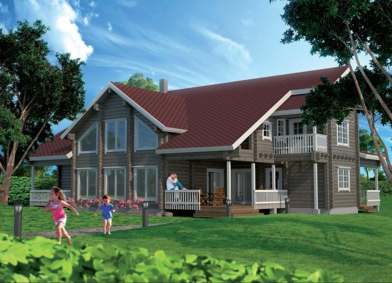 дома и проекты домов по финской технологии