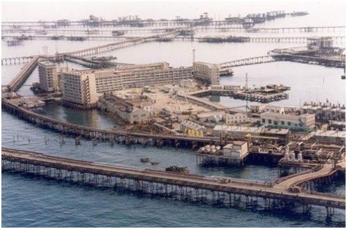 Морской город «Нефтяные камни», Азербайджан