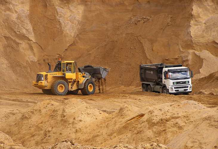 Как применяется песок в строительстве