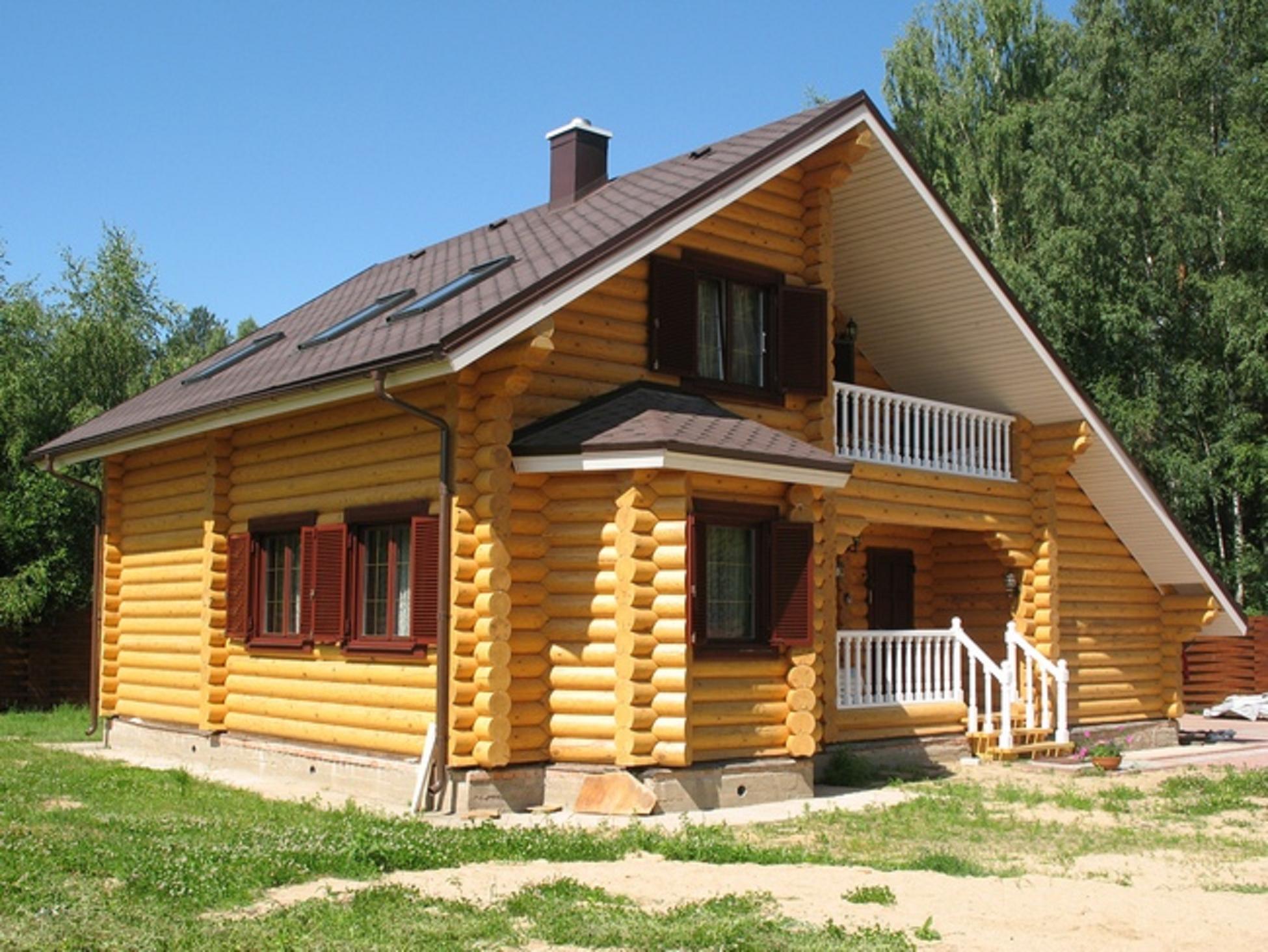 Брусовые дома - специфика проектирования домов из бруса