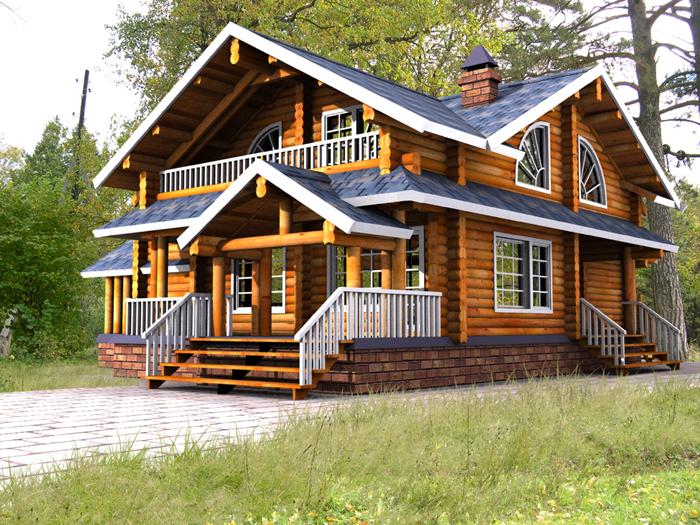 Деревянный дом - какой материал выбрать