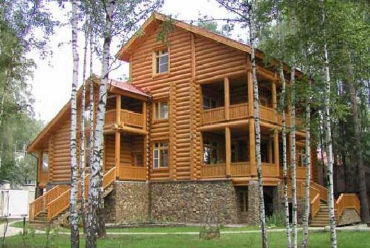 Традиционные деревянные дома и сооружения