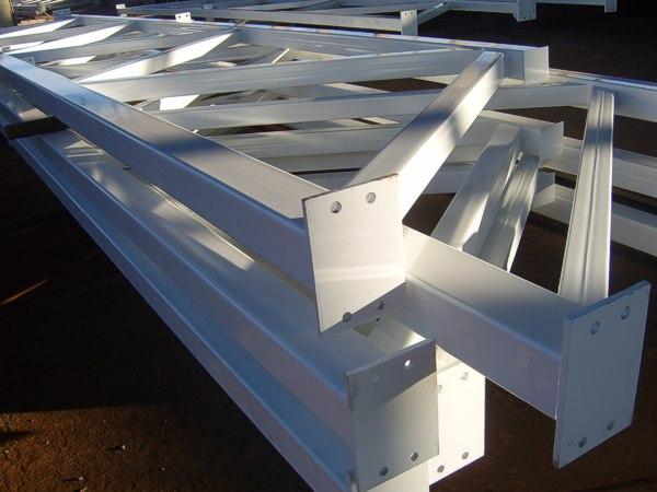 Строительные ограждения из металлоконструкций