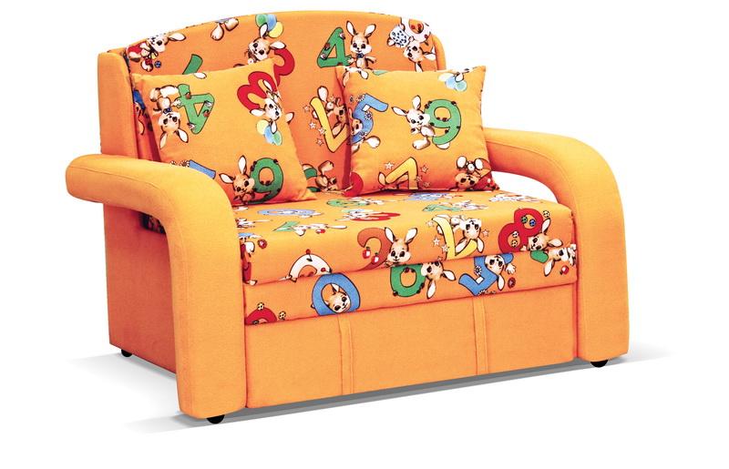 Детский диван - красочный и модный атрибут детской мебели