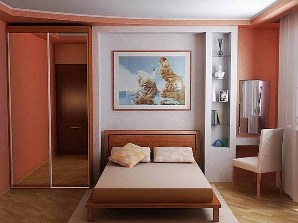 Малогабаритные спальни: от идеи до воплощения