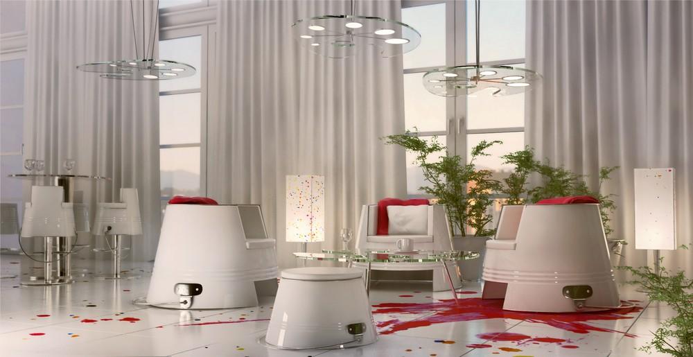 Ресторан-клуб PRACOWNIA в стиле художественной мастерской