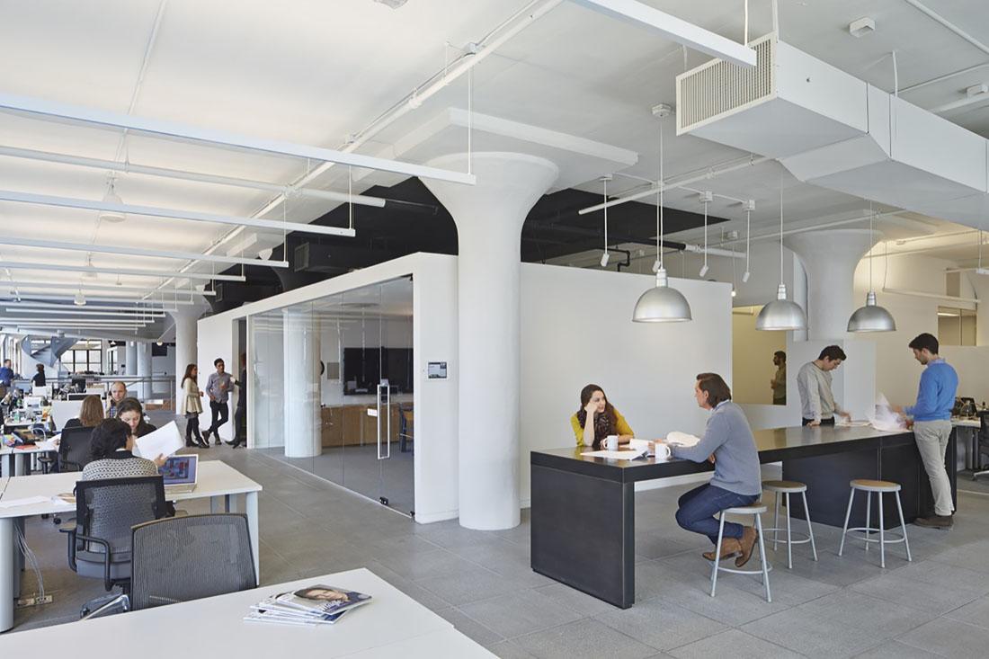 Новый офис рекламного агентства Wieden+Kennedy в Нью-Йорке