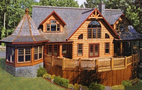 Деревянный дом из бруса - основные преимущества