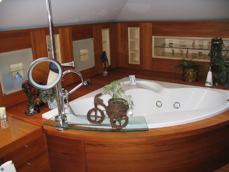 Ванная на деревянном перекрытии - миссия выполнима?