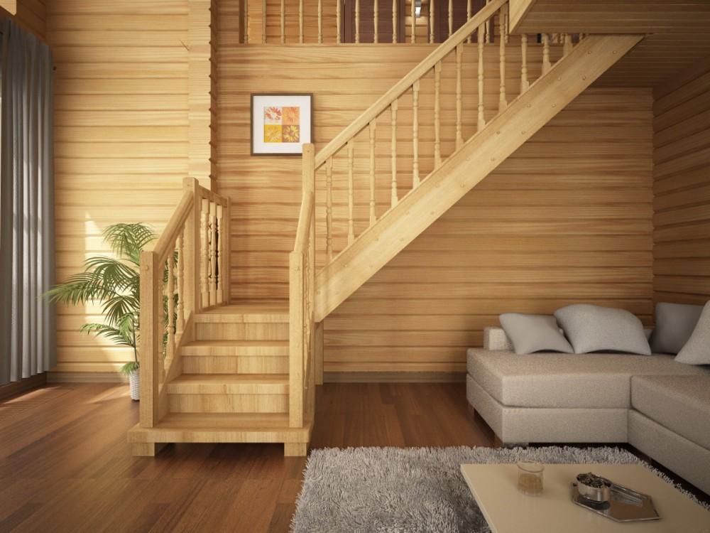 Правильный выбор деревянной лестницы
