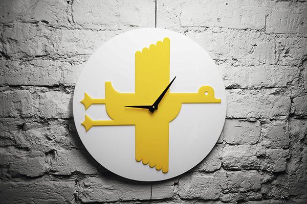 Часы «Летят утки»