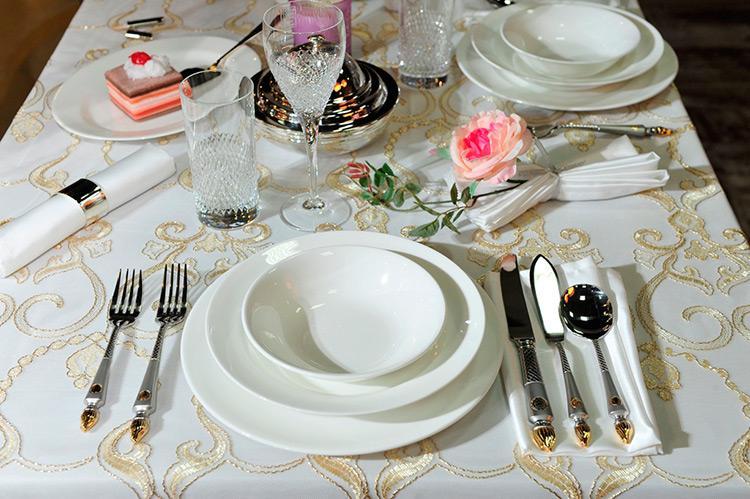 Золотой век: дизайнерская посуда и сервизы