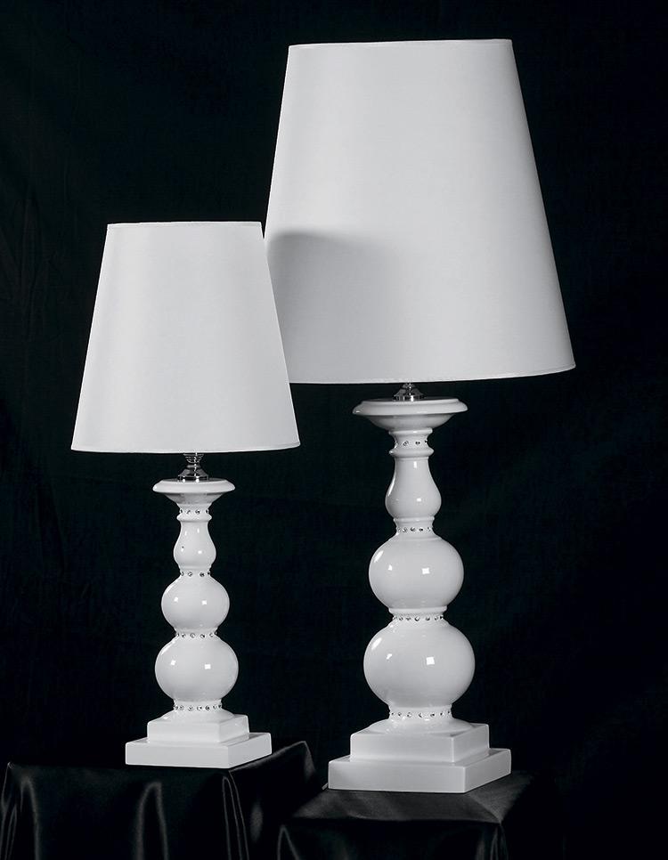 Настольные лампы Cyl и Snake из коллекции Platinum, Marioni