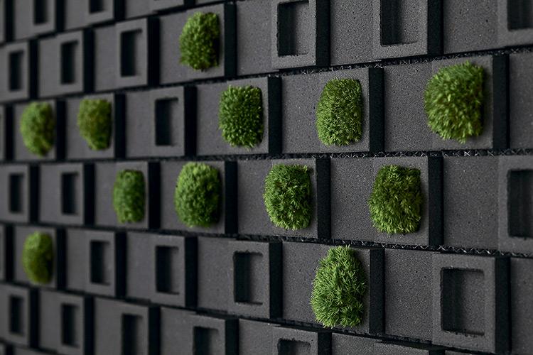 Настенная плитка DENT CUBE, дизайнер Teruo Yasudа, INAX