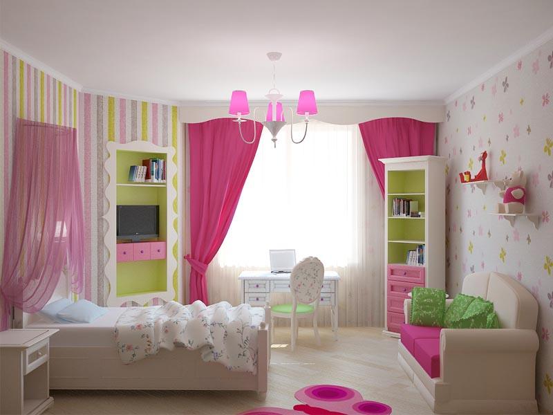 Детская комната: интерьер, созданный исключительно для ребенка