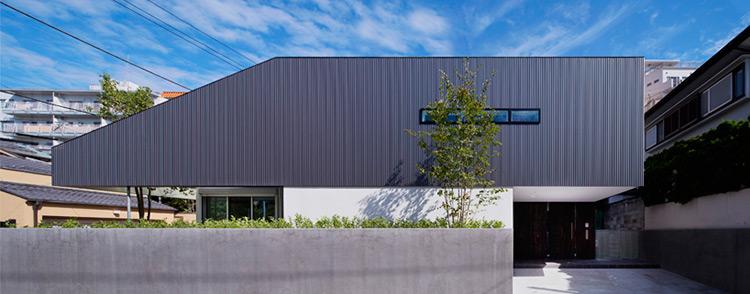 TY House: дом в современном японском стиле